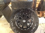 Moto metal rims and toyo tires