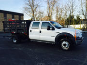2003 Ford F-5507.3L Crew Cab Flatbed/Stakebed LOW MILES 103K!!!