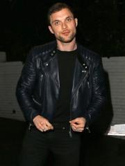Deadpool Ed Skrein Ajax leather Jacket